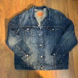 Vintage 90's Levi's trucker jean jacket unisex XL